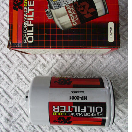 K&N オイルフィルター HP2001