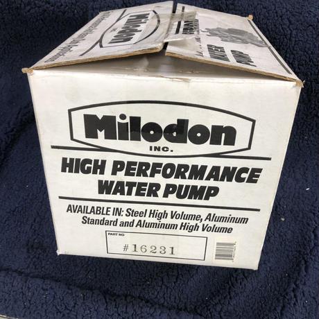 Milodon Ford SB ウォーターポンプ アルミ