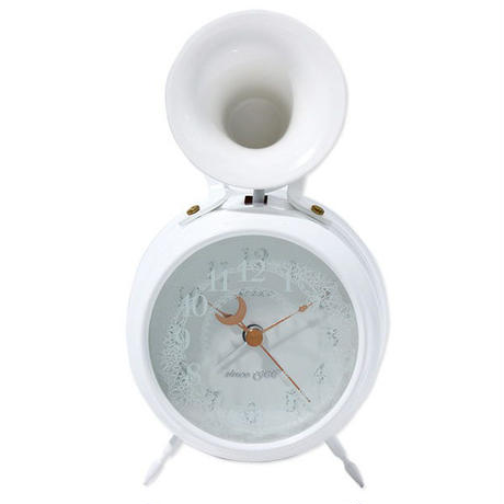 Bugle Clock Lace WH [ビューグルクロック・レース WH] WHITE/白