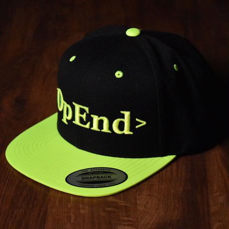 6PANEL SNAPBACK【OpEnd-LOGO CAP】