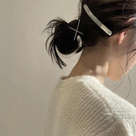 stickhair925silverwhitemarble