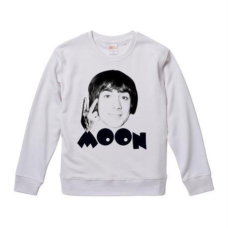 【Kieth Moon-キース・ムーン】9.3オンス スウェット/WH/SW- 299