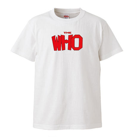 【THE WHO/ザ・フー】5.6オンス Tシャツ/WH/ST-074