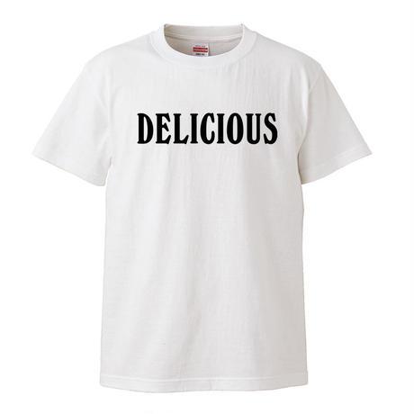 【Delicious-デリシャス】ブライアン・ウィルソン着用 5.6オンス Tシャツ/WH/ST- 307