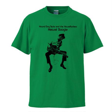 【 Hound Dog Taylor and The HouseRockers/ハウンドドッグテイラー】 5.6オンス Tシャツ/GR/ST- 379