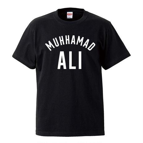 【Muhammad Ali /モハメドアリ】 5.6オンス Tシャツ/BK/ST- 367