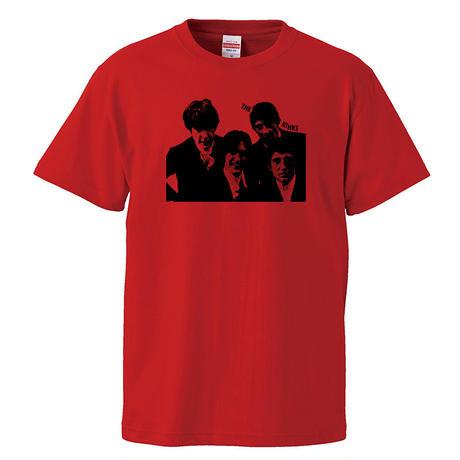 【THE KINKS/ザ・キンクス】5.6オンス Tシャツ/RD/ST- 346