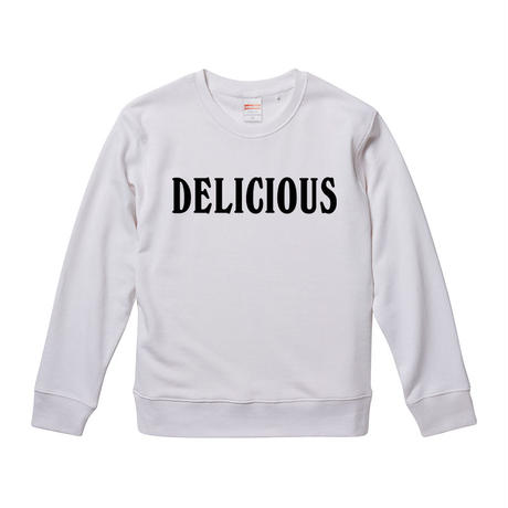 【Delicious-デリシャス】ブライアン・ウィルソン着用 9.3オンス スウェット/WH/SW- 307