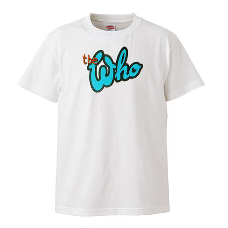 【THE WHO/ザ・フー】5.6オンス Tシャツ/WH/ST-075
