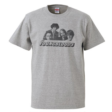 【The Youngbloods-ヤングブラッズ】5.6オンス Tシャツ/GY/ST- 287