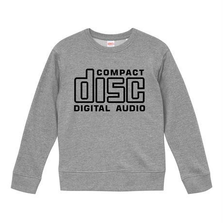 【 Compact Disc Digital Audio】 9.3オンス スウェット/GY/SW- 375  のコピー
