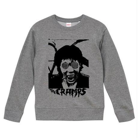 【Cramps-クランプス/Human Fly】9.3オンス スウェット/GY/SW- 339