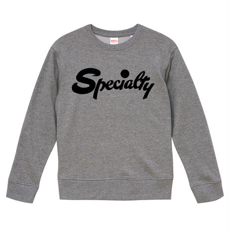 【Specialty-スペシャルティ】9.3オンス スウェット/GY/SW- 354