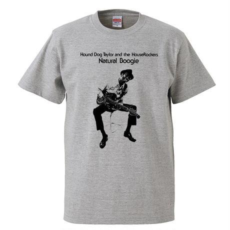【 Hound Dog Taylor and The HouseRockers/ハウンドドッグテイラー】 5.6オンス Tシャツ/GY/ST- 379