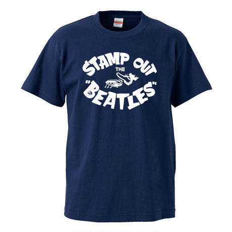 【Stamp Out The Beatles-スタンプアウトザビートルズ】5.6オンス Tシャツ/NV/ST- 196