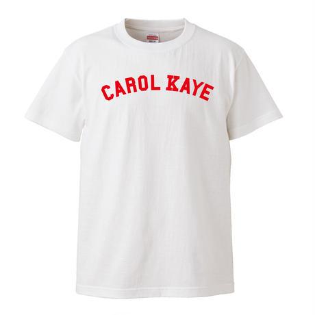 【Carol Kaye/キャロルケイ】5.6オンス Tシャツ/WH/ST- 587