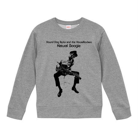 【 Hound Dog Taylor and The HouseRockers/ハウンドドッグテイラー】 9.3オンス スウェット/GY/SW- 379