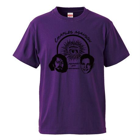 【 Charles Manson/チャールズマンソン】 5.6オンス Tシャツ/PL/ST- 386
