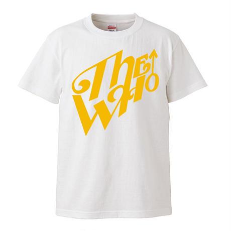 【The Who-ザ・フー】ジョン・エントウィッスル着用  5.6オンス Tシャツ/WH/ST- 301