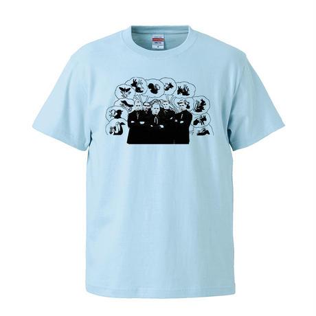 【MONKS THINK /モンクス】5.6オンス Tシャツ/LB/ST- 259