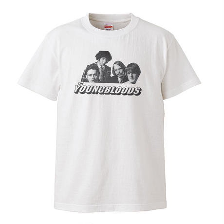 【The Youngbloods-ヤングブラッズ】5.6オンス Tシャツ/WH/ST- 287