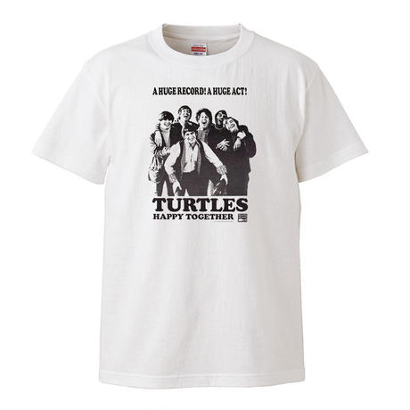 【The Turtles-タートルズ/Happy Together】5.6オンス Tシャツ/WH/ST- 185