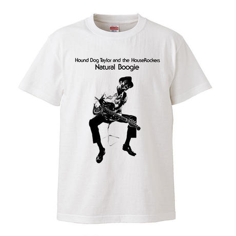 【 Hound Dog Taylor and The HouseRockers/ハウンドドッグテイラー】 5.6オンス Tシャツ/WH/ST- 379