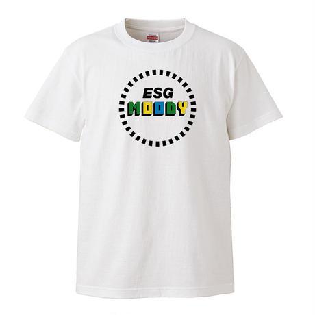 【ESG-MOODY/イーエスジー-ムーディー】5.6オンス Tシャツ/WH/ST-067_wh