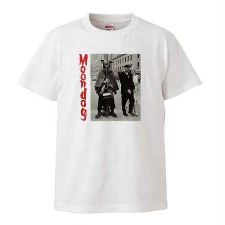 【Moon Dog /ムーン・ドッグ】 5.6オンス Tシャツ/WH/ST- 372