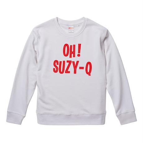 【OH!SUZY-Q/スージーQ】9.3オンス スウェット/WH/SW- 246