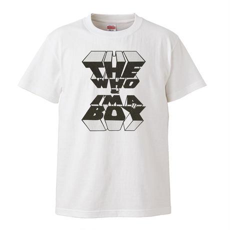 【I'M A BOY-THE WHO/ザ・フー】5.6オンス Tシャツ/WH/ST-072_bk