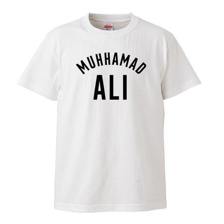 【Muhammad Ali /モハメドアリ】 5.6オンス Tシャツ/WH/ST- 367