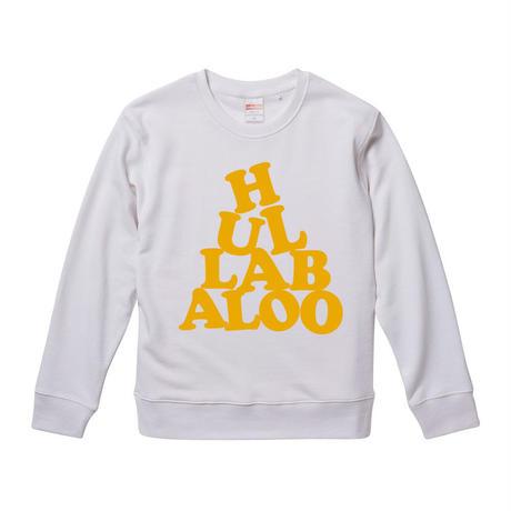 【 HULLABALOO/フラバルー】 9.3オンス スウェット/WH/SW- 383