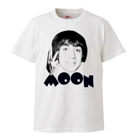 【Kieth Moon-キース・ムーン】5.6オンス Tシャツ/BKWH/ST- 299