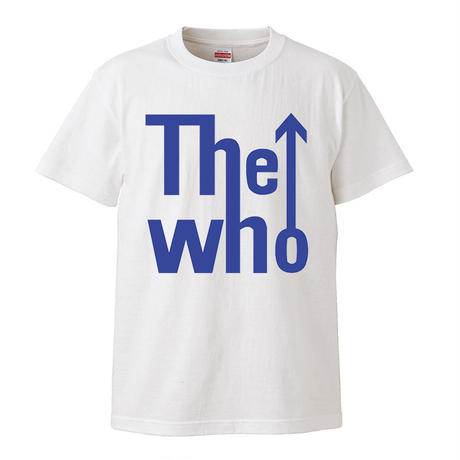 【The Who-ザ・フー】キース・ムーン着用  5.6オンス Tシャツ/WH/ST- 302