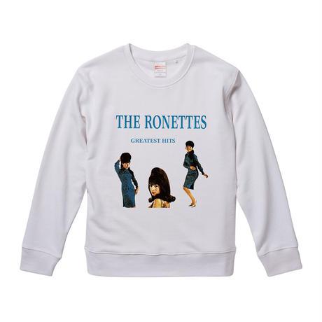 【ザ・ロネッツ/The Ronettes】9.3オンス スウェット/WH/SW- 013