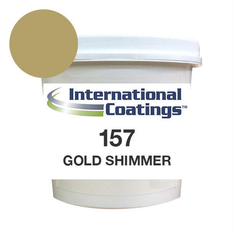 INTERNATIONAL COATINGS 157 ゴールドシマー QT(クォート約1.25kg)