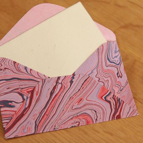 マーブルミニ封筒(3枚1セット)