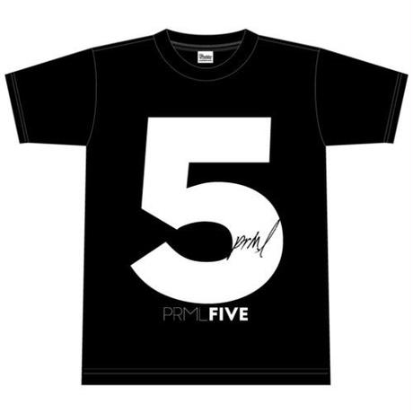 Tシャツ黒(PRML5ロゴ)
