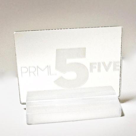【会場限定】PRML5ロゴ刻印入りミラー