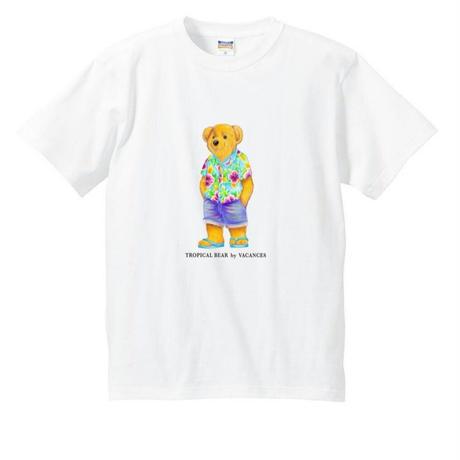 TROPICAL  BEAR アロハ(白)