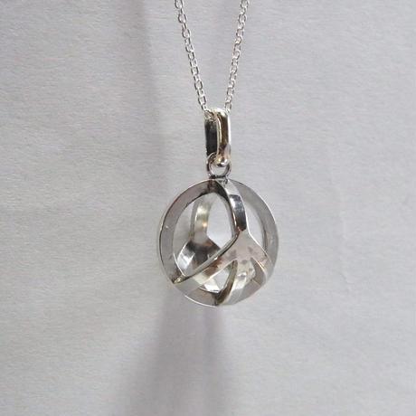 Peace Sign Ball -Large- pendant × P.C.A.D.PROJECT