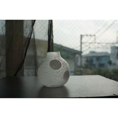 [鎌倉店のみ] 花入れ(水玉) 堀野自由里 Juri Horino