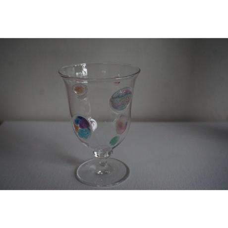 【鎌倉店のみ】グラス リカ―グラス drops of Rainbow   liquor glass  北形槙子