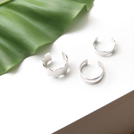 Phalange Ring / PureSilver + Rhodium Plated