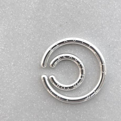 B E A U T Y : Simple Ear Cuff Small  / Silver925