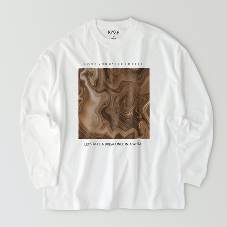 LOVE YOURSELF COFFEE T-shirt / Chocolate Coffee
