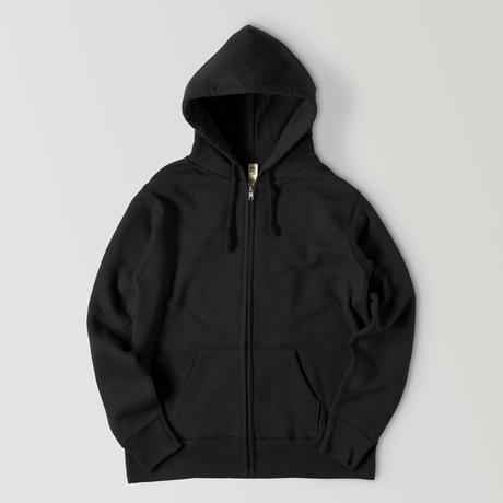【再販】Simple sweatshirt zip hoodie