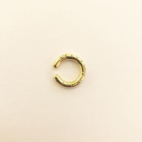 B E A U T Y : Simple Ear Cuff Small  / 18KGP