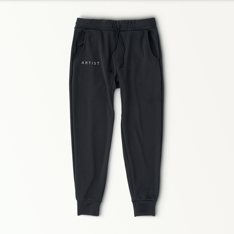 A R T I S T sweat pants / BLACK